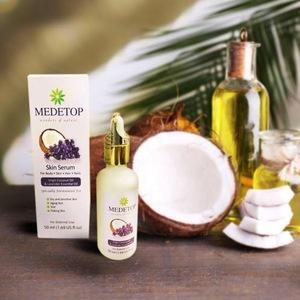 100% Halal, Natural and Pure Skin Serum ( VCO & Lavender Essential Oil ) 50ML (1.69 US FL OZ)