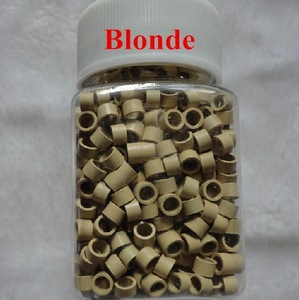 1000pcs 4mm Aluminium micro beads microlinks With Screw Hair Extension tool 4colors in stock
