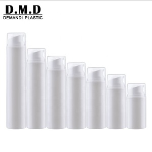 30ml 50ml 80ml 100ml 120ml 150ml Plastic White Airless Pump Bottle for Cosmetic Package