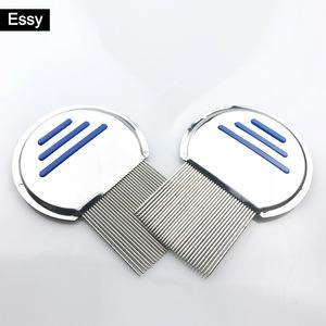 aluminium metal stainless steel lice comb