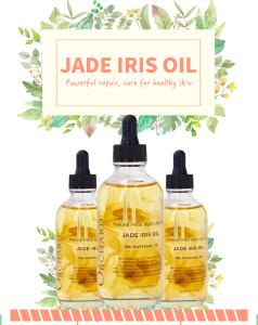 Amazon Hot Sale Pure Natural Jade Iris oil Multi Use Oil Facial Massage Therapy oil