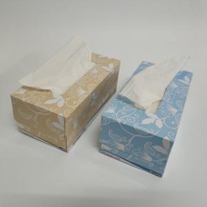 Box facial tissue paper 2ply wholesale facial tissue