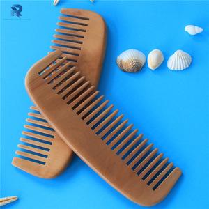 Custom small label small bamboo hair comb