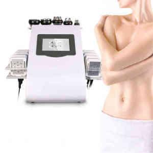 DFBEAUTY Mini Beauty Product Ultrasonic Cavitation 40khz Rf Vacuum Weight Loss Laser Body Slimming Machine