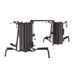 Fitness&Body Building 8 Station Multifunction Training Gym Equipment