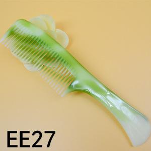 hot sale imitated jade color cheap comb women plastic home casual comb women durable cheap comb