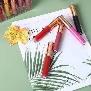 L1#18 Long Lasting Romantic Beauty Cosmetic Custom Matte Liquid Lipstick