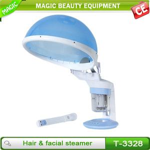 Mini hair spa ion hair steamer for home use