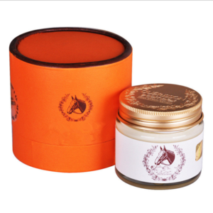 OEM /ODM private label Horse Oil Cream for face acne scar removal treatment anti-aging moisturizing skin care