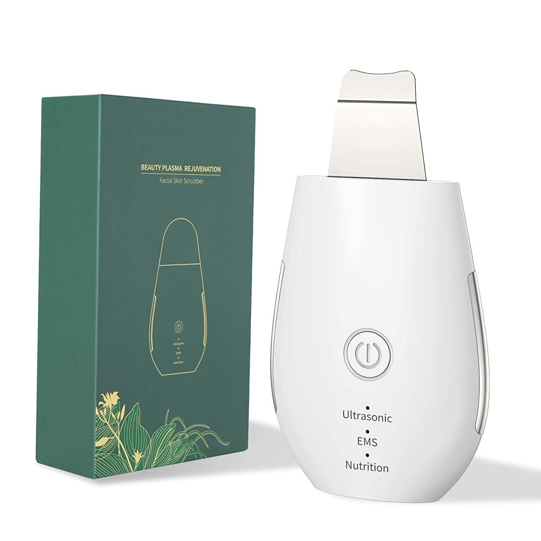 Productos Mas Vendidos Portable Facial Cleaning Skin Scrubber Ultrasonic Beauty Apparatus