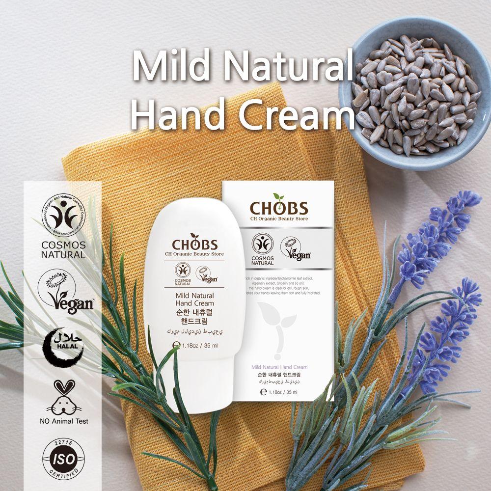 (CHOBS) 温和自然护手霜 Natural Hand Cream 35ml