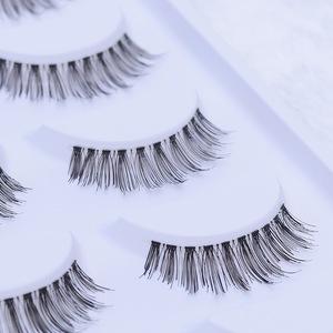 100% human hair made false eyelash various style