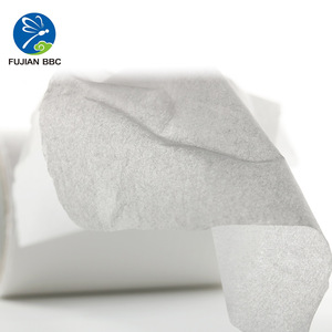 100% Virgin Wood Pulp Jumbo Roll Tissue Paper Wrapping for diapers and sanitary napkins absorbency core making