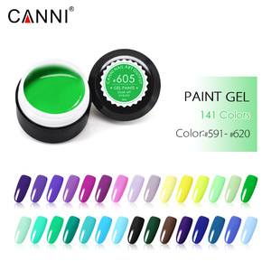 50628 Gel Nail Products CANNI Nail Art Factory Supply Soak off LED UV Color Gel Paints