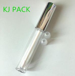 5ml 10ml glossy gold silver lipstick tube empty for liquid lipgloss cosmetics tubes