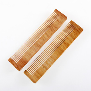 bamboo wooden combs custom hotel wood comb