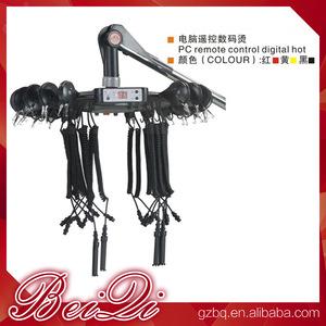 Beiqi Hair Perm Machine LCD and Hang Styles Black Hair Salon Energy Ceramic PC Remote Control Digital Hot