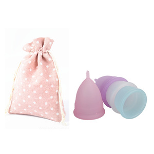 Best Silicone Menstrual Holder Cup With Bag