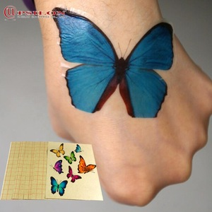 Custom A6 Size Cutting Inkjet Print Temporary Tattoo Sticker