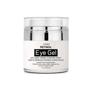 Manufacturer Wholesale Custom Formula Makeup Private Label Anti Wrinkle Retinol Eye Cream Dark Circles