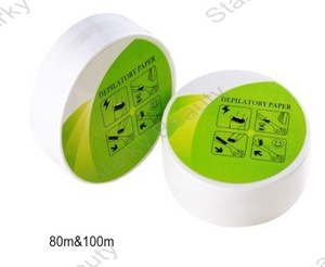 Nonwoven depilatory wax paper /wax strip