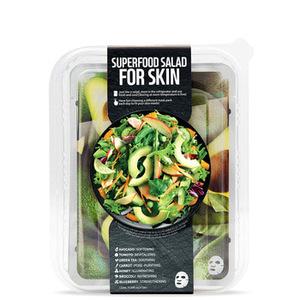 Superfood Avocado Salad Face Mask Set (7 Sheets) K-Beauty Korean Cosmetic Beauty  Wholesale Face Mask Makeup Cosmetic