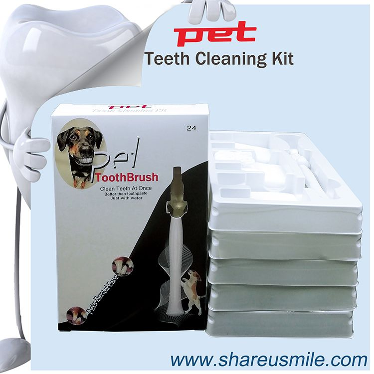 2020 New Dog dental care shareusmile pet toothbrush dog teeth cleaning products