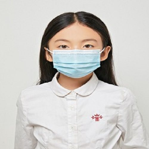 Disposable melt-blown mask student breathable three-layer children's daily protective mask