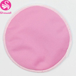 Amazon Supplier High Quality Reusable Washable rounds Bamboo Cotton fleece makeup Remover Pads with Hook
