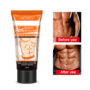 Calf Muscles Slimming Cream Aliver Six Pack Care Fitness Belly Fat Burning Abdominal Muscles Cream