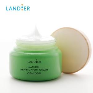 Korean Skin Care Products Natural Herbal Moisturizing Whitening Night Cream for Sensitive Skin