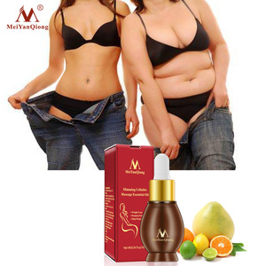MeiYanQiong Brand 1pcs Slimming Cellulite Massage Essential Oil Fast Lose Weight Fat Burning Slimming Body Creams Care