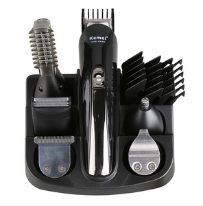 Multifunctional Professional Household Rechargeable Electric hair clipper/Nose trimmer/Comb KM-600