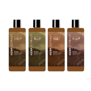 New Design Bulk Organic Hemp Liquid Hand Soap