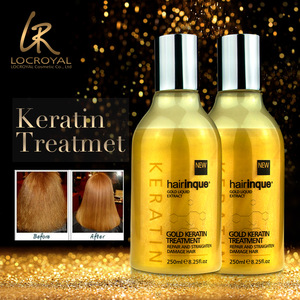 New products keratin therapy 24k gold powder famous hair treatment