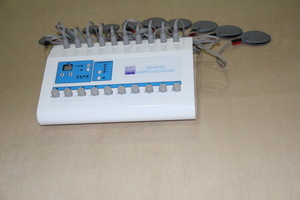 Portable Electrostimulation physiotherapy equipment