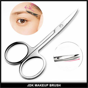 Professional Mini Eyebrow Eyelash Scissor Stainless Steel Makeup Scissor