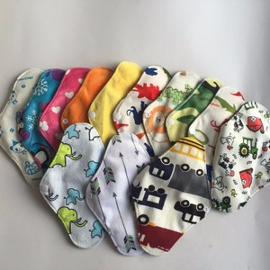 Reusable waterproof washable bamboo charcoal menstrual feminine cloth pads Eco friendly breathable sanitary napkin hygiene pad