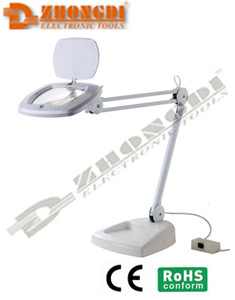 100V-240V High quality desktop LED magnifing lamp with of Ningbo ZD