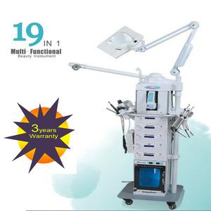 2018 Professional multifunction facial machine19 in 1 Multi-functional salon beauty equipment