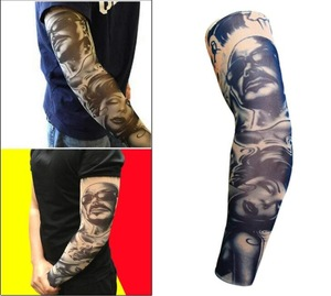 2019 Cheap Price Easy to wash spandex polyester breathable temporary tattoos elastic fabric artificial tattoo body art