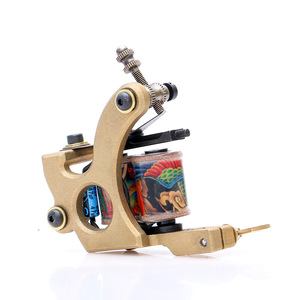 AI-Aiheogae High Quality Liner Dual 10 Wrap Coils for Tattoo Gun Supplies Copper Handmade Tattoo Machine TM427