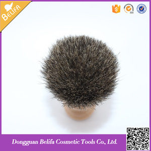 Belifa wholesale private label natural badger wood shaving brush
