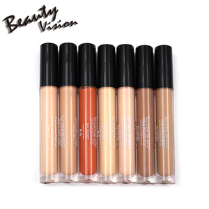 Custom 7 colors cosmetics makeup cover face concealer liquid concealer