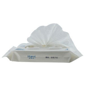 flushable biodegradable wet wipe contains natural original pulp