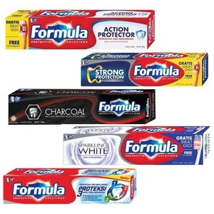 Formula Charcoal Whitening Toothpaste
