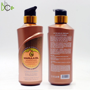 high quality ingredient popular organic marula oil hair care smoothing shiny hair conditioner with GMP certificate