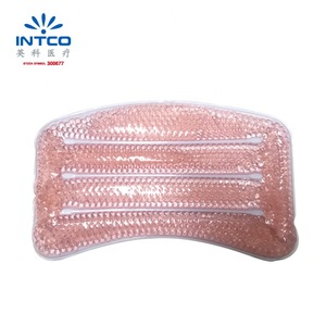 Hot Sale Intco Spa Bath Pillow ice gel cooling beads