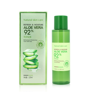 Improve moisture balance hydrating fresh aloe vera face skin toner