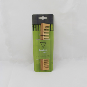 Natural Bamboo Hair Comb Mini Pocket Comb
